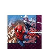 Spider-Man Webbed Wonder Beverage Napkins 16ct