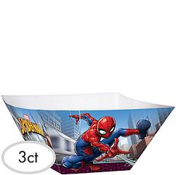 Spider-Man Webbed Wonder Serving Bowls 3ct