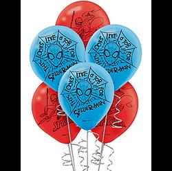 Spider-Man Webbed Wonder Balloons 6ct