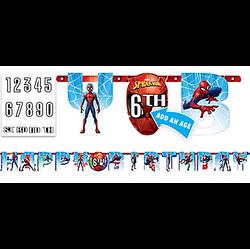 Spider-Man Webbed Wonder Birthday Banner Kit