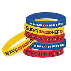 Spider-Man Webbed Wonder Wristbands 6ct