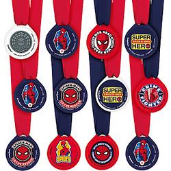 Spider-Man Webbed Wonder Award Medals 12ct