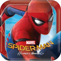 Spider-Man Homecoming Lunch Plates 8ct