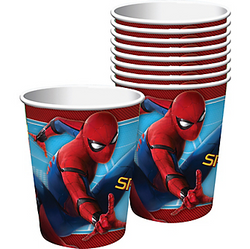 Spider-Man Homecoming Cups 8ct