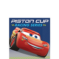 Cars 3 Beverage Napkins 16ct