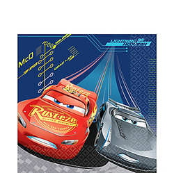 Cars 3 Lunch Napkins 16ct