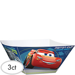 Cars 3 Serving Bowls 3ct