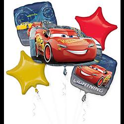 Cars Balloon Bouquet 5pc