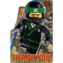 The Lego Ninjago Movie Thank You Notes 8ct