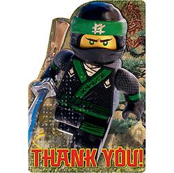 The Lego Ninjago Movie Thank You Notes 8ct