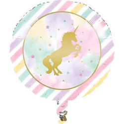 "Sparkle Unicorn 18"" Foil Balloon"