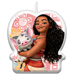 Moana Birthday Candle