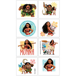 Moana Tattoos 1 Sheet