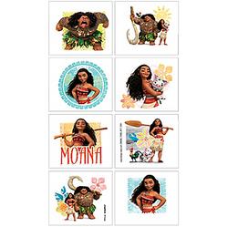 Moana Tattoos 1 Sheet