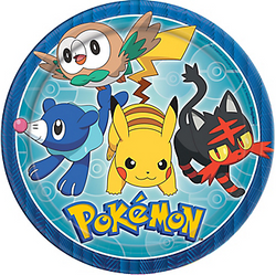 Pokemon Core Dinner Plates 8ct