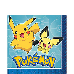 Pokemon Core Lunch Napkins 16ct