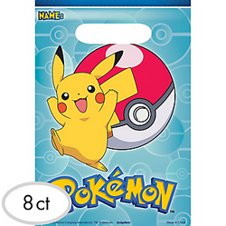 Pokemon Core Favor Bags 8ct
