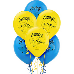 Pokemon Core Balloons 6ct