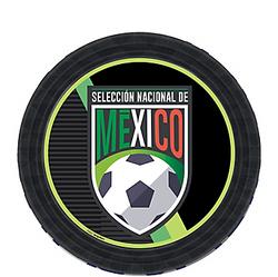 Mexico National Team Dessert Plates 8ct