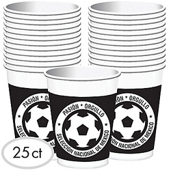 Mexico National Team Plastic Cups 25ct