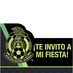 Mexico National Team Invitations 8ct