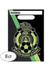 Mexico National Team Favor Bags 8ct