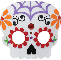 Child Day of the Dead Mask
