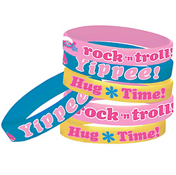 Trolls Wristbands 6ct