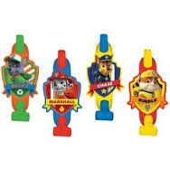 Paw Patrol Blow Outs 8 Count
