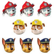 Paw Patrol Paper Masks 8 Count