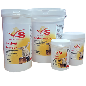 Calcium supplement for small animals.