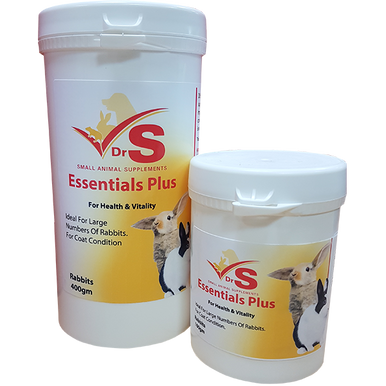Moulting supplement for small pets.