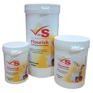 Herbal supplement for small animals.