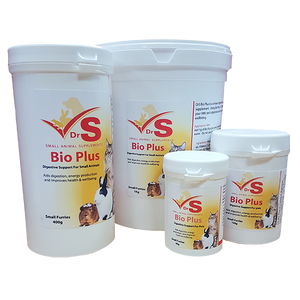 Probiotic supplement for small animals.