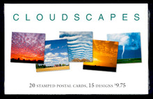 UX421-35 UPSS# S435-49 23c Cloudscapes Mint Postal Cards