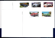 UX440-44 UPSS# S454-58 23c Sporty Cars Mint Postal Cards