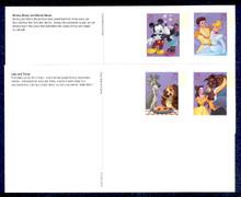 UX450-53 24c Disney Mint Postal Cards