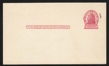 UX32 UPSS# S44-14, Des Moines Surcharge, Mint Postal Card