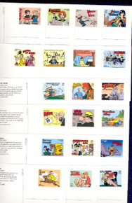 UX221-40 UPSS# 234-53 20c Comic Strip Mint Postal Cards, Opened set of 20 Postal Cards