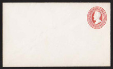 U85 UPSS # 204 6c Red on White, Mint Entire