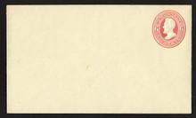 U86 UPSS # 210 6c Red on Amber, Mint Entire