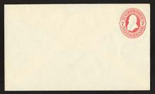 U88 UPSS # 221 7c Vermillion on Amber, Mint Entire