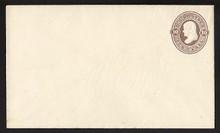 U92 UPSS # 227 10c Brown on Amber, Mint Entire