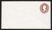 U128 UPSS # 303 2c Brown on White, die 2, Mint Entire