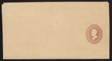 W137 UPSS # 313 2c Brown on Manila, die 4, Mint Wrapper, Folded