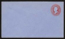U146 UPSS # 338 2c Vermillion on Blue, die 5, Mint Entire, Horizontally Laid Paper