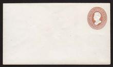 U132 UPSS # 307 2c Brown on White, die 3, Mint Entire