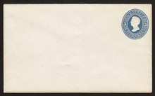 U177 UPSS # 474 5c Blue on White, die 2, Mint Entire