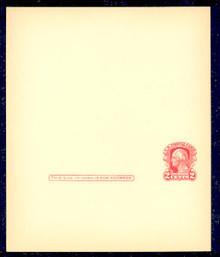 UY8 UPSS# MR15 1c Washington, red Mint UNFOLDED