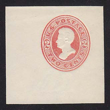 U149 2c Vermillion on White, die 6, Mint Full Corner, 50 x 50